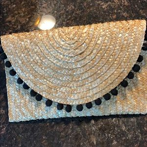 Shiraleah Straw Clutch from EXPRESS